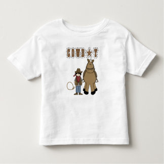 Western Style Fun! Cowboy Rope Horse T Shirt