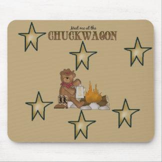Western Style Fun! Cowboy Teddy Custom Mousepad