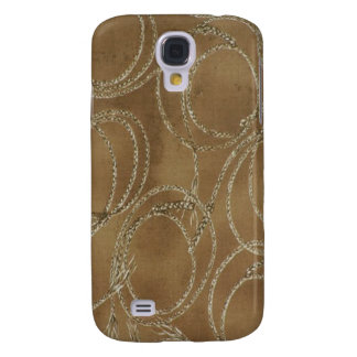 Western Style Rope Khaki 3G/3GS Samsung Galaxy S4 Cover