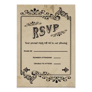 Western Style RSVP Response Card