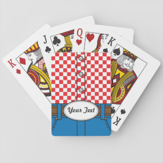 Western Style (with Customizable Belt Buckle) Poker Cards