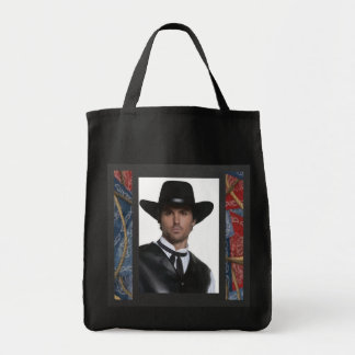 Western Sunday Best Tote Bag Grocery Tote Bag
