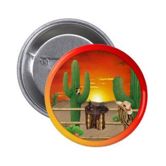 Western Sunrise Button