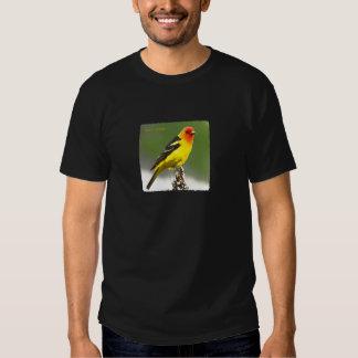 Western Tanager Art Logo T Shirt