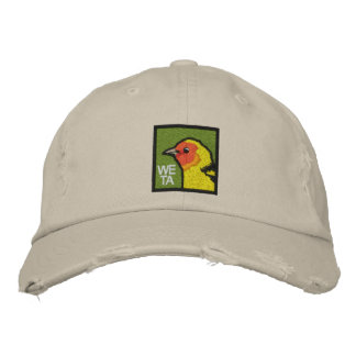 Western Tanager Embroidered Hat