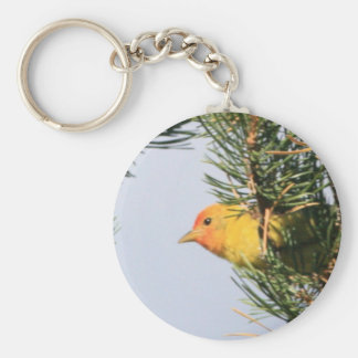Western Tanager Keychain