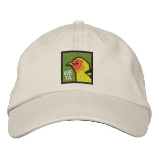 Western Tanager (non-distressed) Embroidered Hat