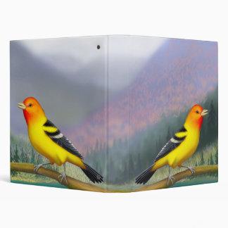 Western Tanager Wild Bird Binder