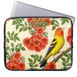 Western Tanager Wild Bird Laptop Sleeve