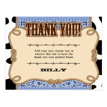 Western Thank You Cards