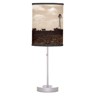 Western Theme Table Lamp