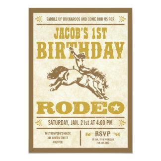 Western Themed Birthday Invitations