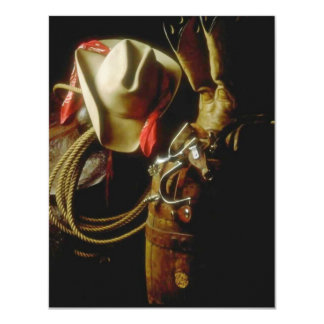 WESTERN THEMED PARTY INVITATION ~ EZ2 CUSTOMIZE