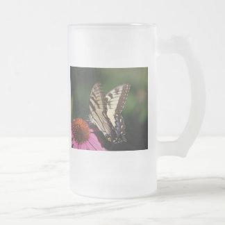 Western Tiger Swallowtail Beer Mug