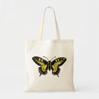 Western Tiger Swallowtail Butterfly Canvas Bag