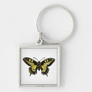 Western Tiger Swallowtail Butterfly Keychain