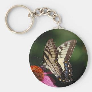 Western Tiger Swallowtail Keychain