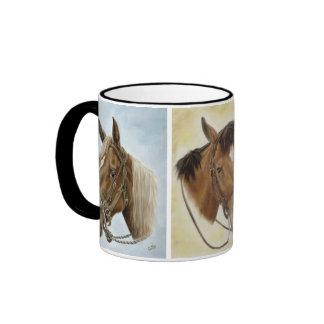 Western Trio Horse Mug