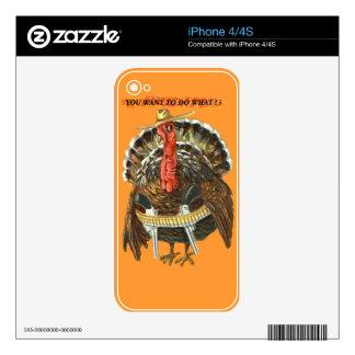 WESTERN TURKEY iPhone 4S DECALS
