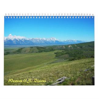 Western U.S. Calendar
