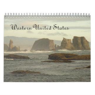 Western United States 2014 Calendar