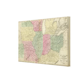 Western US Gallery Wrapped Canvas