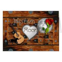 Western Valentine Card
