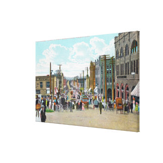 Western View from Holly Street Canvas Print