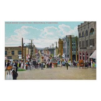Western View from Holly Street Poster