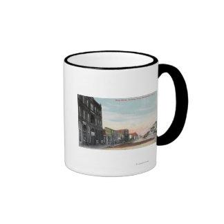 Western View from Main StreetKennewick, WA Ringer Coffee Mug