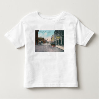 Western View of Holly Street from YMCA Bldg Toddler T-shirt