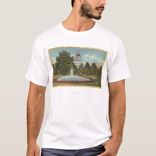 Western View of the State Capitol T-Shirt