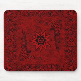 Western Vintage Red Bandana Mousepad