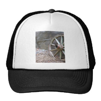 western wagon wheel mesh hats
