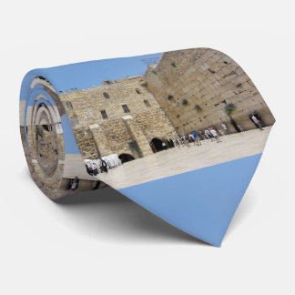 Western Wall Mosaic Neck Tie
