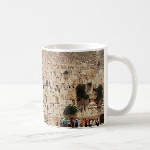 Western Wall of Temple, Jerusalem, Israel mug
