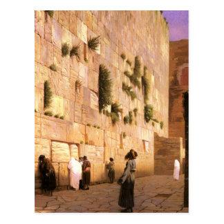 Western Wall Postcard