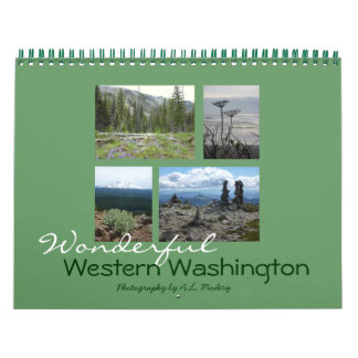 Western Washington 2016 Calendar
