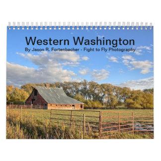 Western Washington Wall Calendar