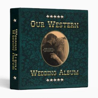 Western Wedding Album Binder