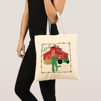 Western wedding Cowboy Boots Bouquet Tote Bag
