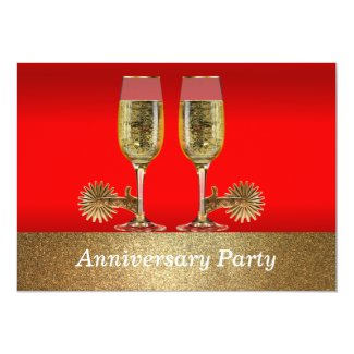 Western Wedding Invite Anniversary Party