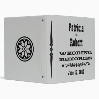 Western Wedding Photo Album Binder