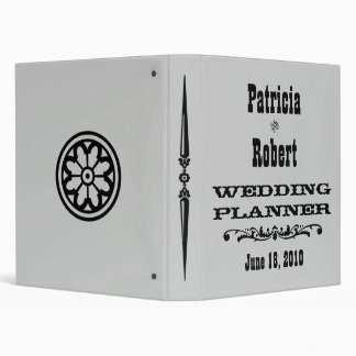 Western Wedding Planner Binder