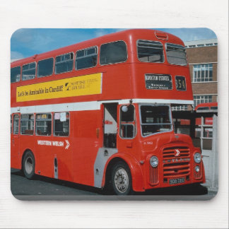 Western Welsh Leyland decker in National bus liver Mouse Pad