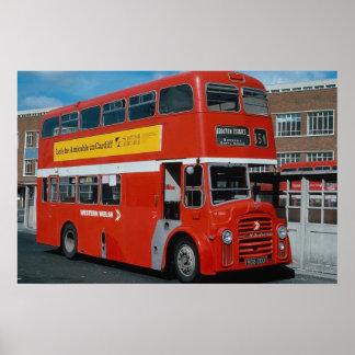 Western Welsh Leyland decker in National bus liver Poster