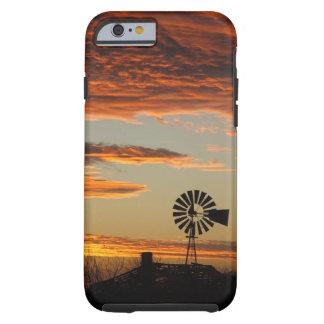 Western Windmill Sunset iPhone 6 Case