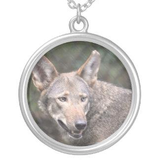 Western Wolf Necklace