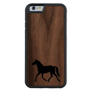 Western wood carved® walnut iPhone 6 bumper