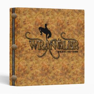 Western Wrangler Recipes Cookbook Binder (Custom)